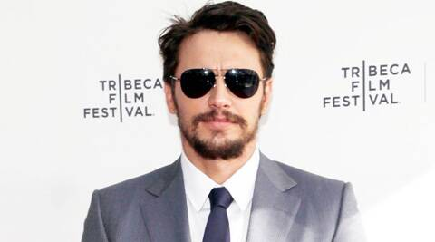 James Franco is currently making his Broadway debut in 'Of Mice and Men'.