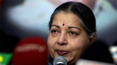 "Jayalalithaa termed the Centre's move on use of Hindi as being ""against letter and spirit"" of the law."