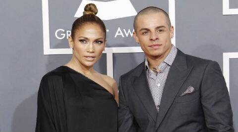 Casper Smart first met Jennifer Lopez when he was a backup dancer. (Source: Reuters)