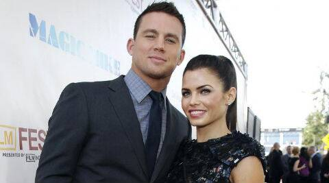 Jenna Dewan: Channing Tatum doesn't like me doing intimate scenes. (Source: Reuters)