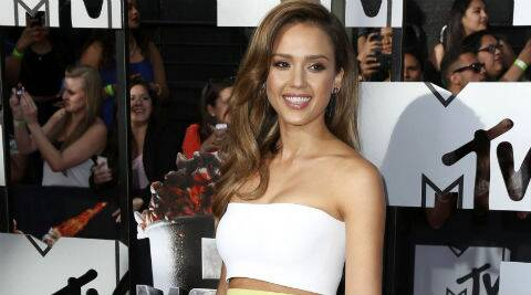 Jessica Alba's father was in the Air Force. (Source: Reuters)