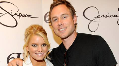 Jessica Simpson and her fiance Eric Johnson hosted a bachelor/bachelorette party recently.
