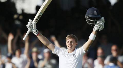 Joe Root made an unbeaten 102, his third Test century, to guide England to 344/5 at hte end of day one of the first Test against Sri Lanka at Lord's (Source: AP)