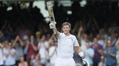 Joe Root's patient knock was laced by 16 beautiful hits to the fence (Source: AP)