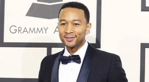 John Legend was unable to join his model wife at Spike TV's Guys' Choice Awards at the weekend. (Source: Reuters)