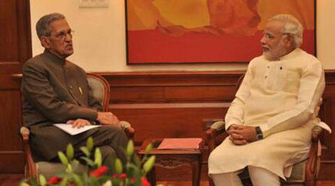 "Joshi had recently met Prime Minister Narendra Modi on June 4, which was officially described as a ""courtesy visit""."