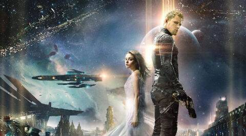 'Jupiter Ascending' is set at a time when humans are at the bottom of the evolutionary ladder.