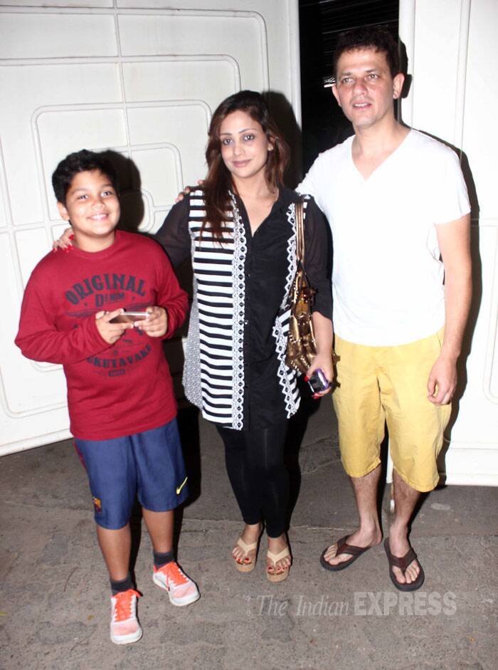 Debutant director Kabir Sadanand was accompanied by his family. (Source: Varinder Chawla)