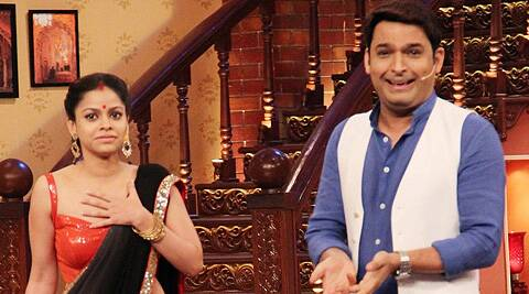 """Some people think I am being disrespectful to women by taunting Sumona,"" said Kapil Sharma."
