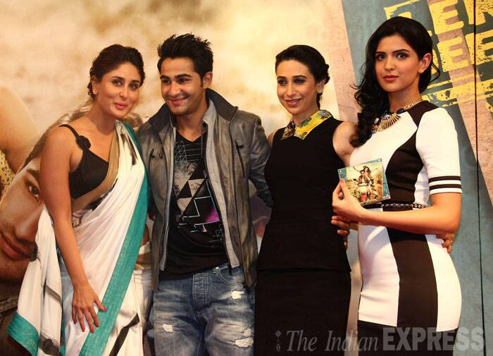 Sisters Kareena, Karisma, grandmom and Kapoors for Armaan Jain