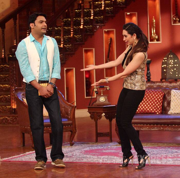 Check out Karisma and Kapil in action. (Source: Varinder Chawla)