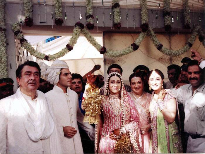 On 29 September 2003, Karisma tied the knot with industrialist Sunjay Kapur, CEO of Sixt India at her grandfather Raj Kapoor's R K Cottage. (Express archive photo)