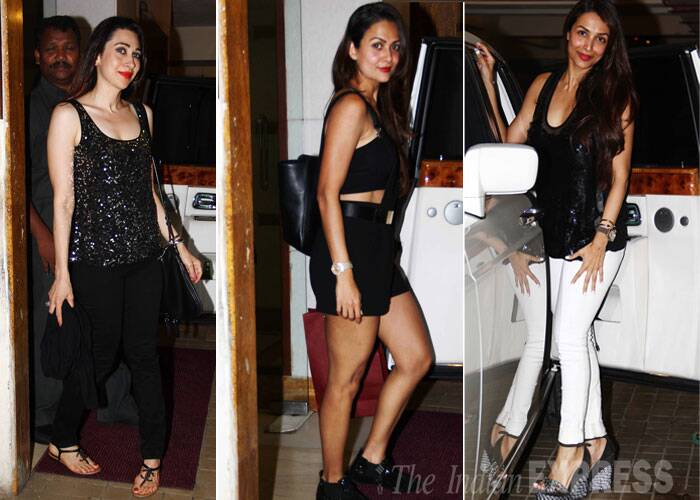 Kareena Kapoor throws 40th birthday bash for sister Karisma