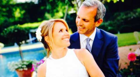 """""""So excited to make my debut as Mrs John Molner!"""" Couric tweeted shortly after the ceremony."""