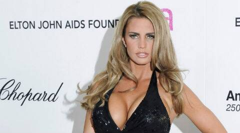 Katie Price recently split from husband Kieran Hayler. (Source: Reuters)