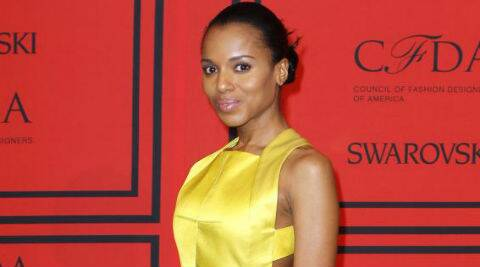 Kerry Washington said that the collection would be original and not inspired by any other designer. (Source: Reuters)