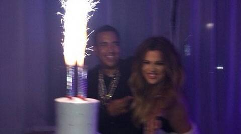 The 'Pop That' hitmaker also gifted Kardashian with a set of grillz, including one with diamonds and the other without, on her birthday on June 27.
