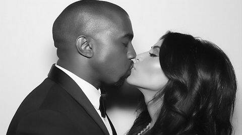 Kim Kardashian wrote: Happy Birthday to my husband and best friend in the entire world! (Source: Instagram)