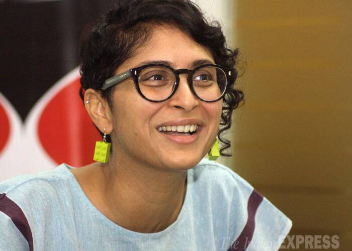 """I always knew I wanted to write my own material,"" said Kiran Rao at the Idea Exchange. (Source: Express photo by Vasant Prabhu)"