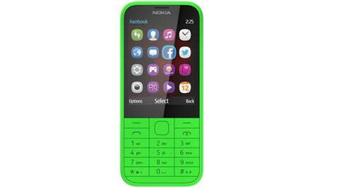 The Nokia 225 offers affordable internet access through the cloud-powered Nokia Xpress Browser on a 2.8-inch display.