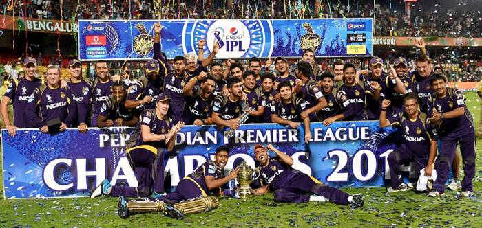 The start to this IPL by KKR was a forgettable one as they performed badly in the UAE but after IPL came back to India, KKR turned around their fortunes and won nine matches on the trot. The team was rewarded for their effort and they clinched the IPL title for the second time in three years. (Source: BCCI/IPL)