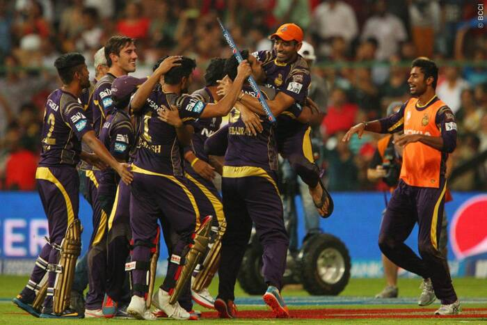 Needing four runs of four balls, Piyush Chawla sliced a Parvinder Awana ball to the boundary to win the final by three wickets. KKR won their second title in three years and the players were jubilant after the win. Given their form in the UAE leg, no one expected KKR to reach the play-offs but the India-leg saw them win nine matches on the trot including the final. (Source: BCCI/IPL)