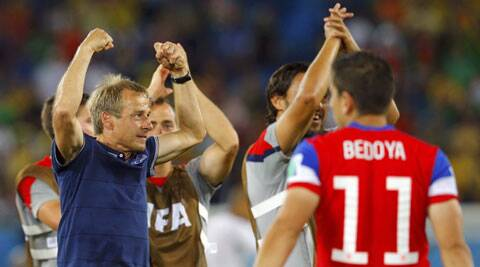 Klinsmann said he always believed the U.S. would win even (Source: Reuters)