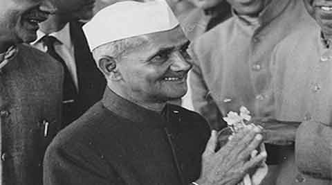 The book,carries tidbits encapsulating Shastri's childhood, growing up years and political life. (Source: Express Archive)