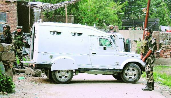 The police say Bhat was also involved in plotting the attack on an Army convoy at Hyderpora in Srinagar last year. Source: PTI