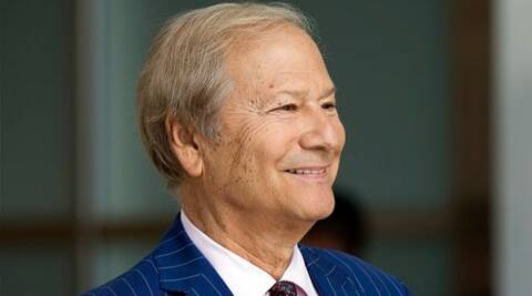 Lewis Katz, 72, had died in the crash at Hanscom Airfield in Bedford, Massachusetts. (Source: AP photo)