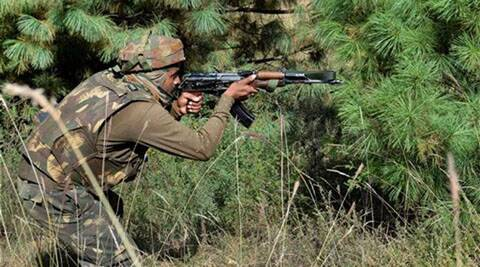Firing from across the border was reported in Keri sector of Rajouri and Balakot area of Poonch.