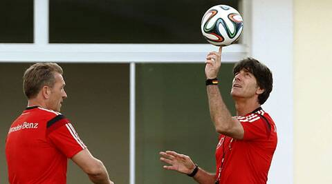 Germany coach Loew wants to return from Brazil with a new high (Source: Reuters)
