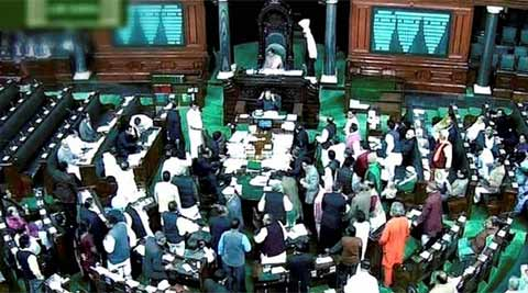 The first session of the newly-elected 16th Lok Sabha commenced here Wednesday. (Source: PTI)
