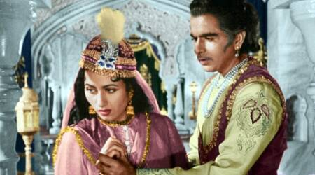 "Things soured badly during the production of ""Mughal-E-Azam""."