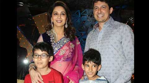 madhuridixit-sons