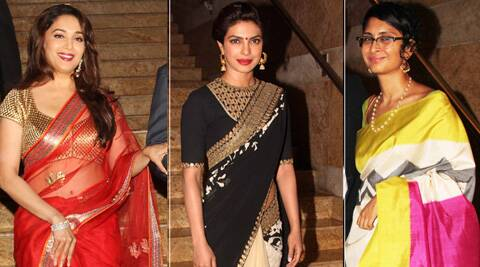 Take our poll and tell us, between Madhuri Dixit, Priyanka Chopra and Kiran Rao who is your favourite Sari belle .