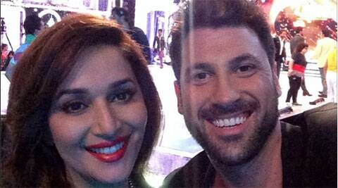 """Madhuri is just amazing,"" said Maksim Chmerkovskiy."