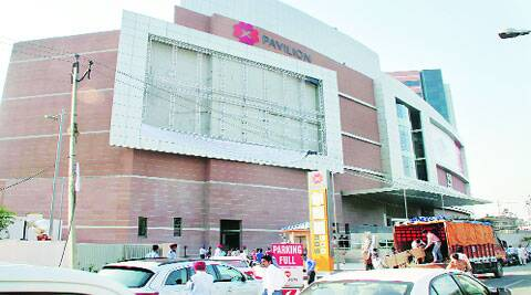 PVR cinemas started in the mall, owned by the Bharti Group, three days back