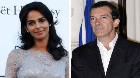 Mallika Sherawat was recorded on video dancing with the Antonio Banderas during a party in Cannes two years ago.