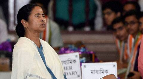 """WB Chief Minister Mamata Banerjee alleged, """"Terror is being unleashed with provocative speeches by BJP leaders since they came to power'. (Source: PTI)"""