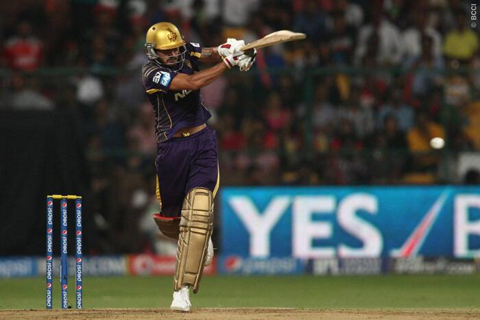 Manish Pandey, who had a quiet IPL until  the final, played a crunch innings in the final and shared a 53-run partnership of 33 balls with Gautam Gambhir to set-up the chase. (Source: BCCI/IPL)