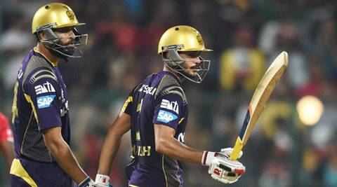 Manish Pandey played the leading role in the stiff chase with a 50-ball 94 (Source: PTI)