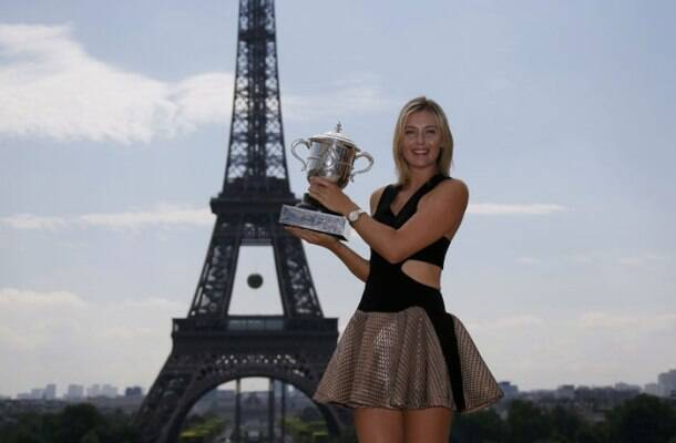 French Open: Maria Sharapova ends title drought