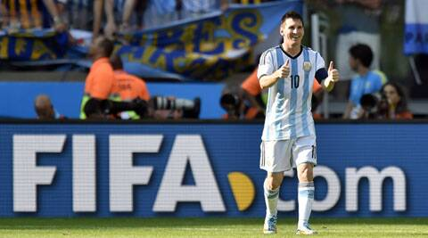 One of world soccer's marquee names and most feared strikers, Messi turned 27 on Tuesday. (Source: AP)