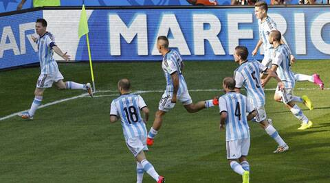 Argentina once again had to rely on Messi's moment of magic at the end (Source: Reuters)