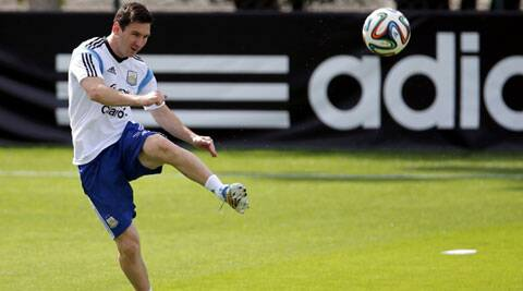 Messi admited he was annoyed at not being able to play the game he had planned. (Source: Reuters)