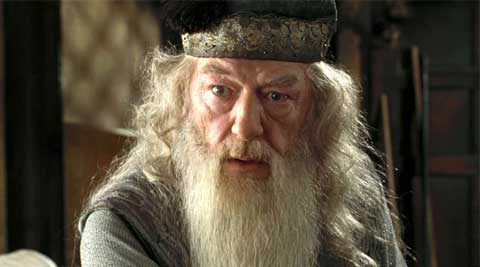 Michael Gambon played Dumbledore in the 'Harry Potter' film series.
