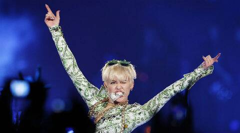 Miley Cyrus' home was also broken into back in November, just a day after her 21st birthday. (Source: AP)