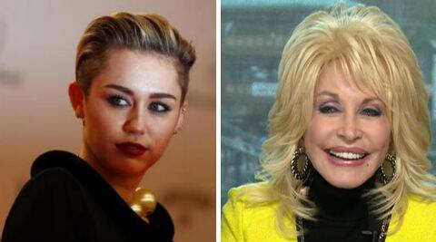 Miley Cyrus' godmother Dolly Parton has defended the singer. (Source: Reuters)