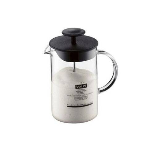 For a perfect cappuccino at home, all you need is a milk frother.